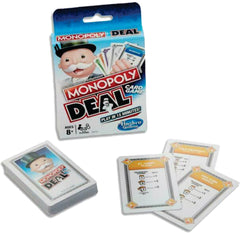 Monopoly Deal Family Card Game