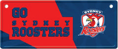 Sydney Roosters NRL Licence Plate Sign