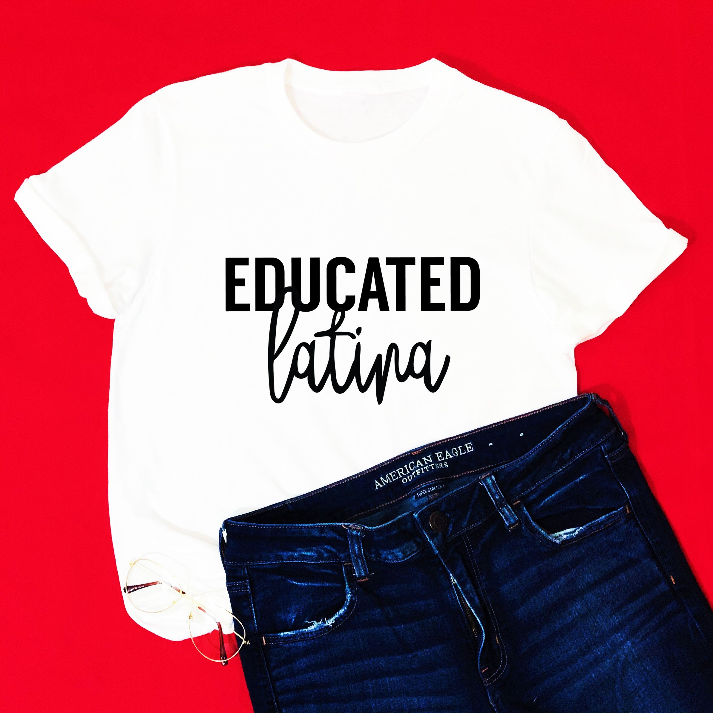 Educated Latina Tee