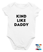 Load image into Gallery viewer, Kind Like Mommy or Daddy Onesie