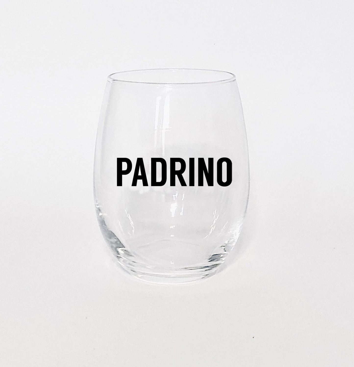Madrina/Padrino Wine Glass