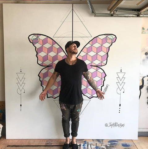 Justin Hill Butterfly Wing Design