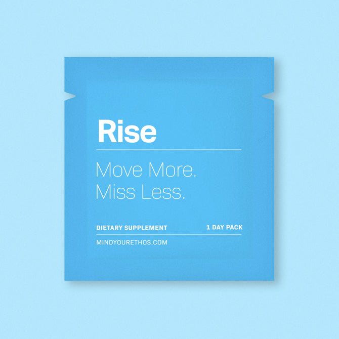 Rise - Move Less. Miss More
