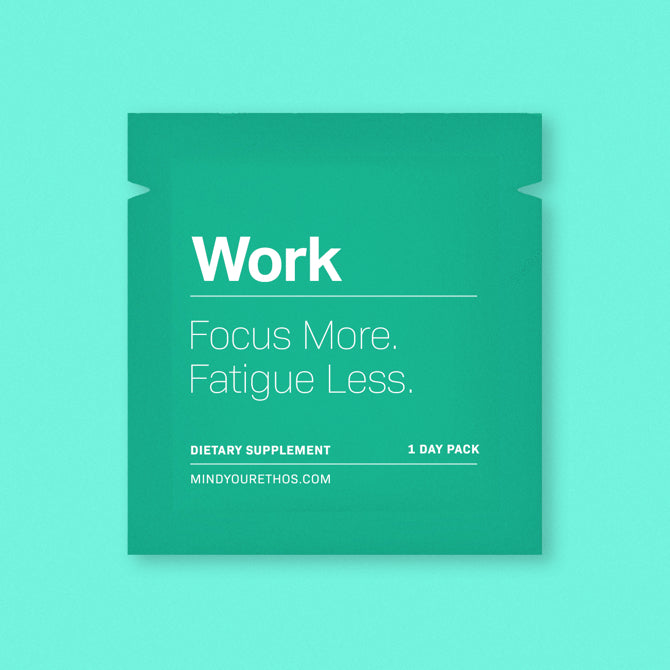 Work - Focus More. Fatigue Less.