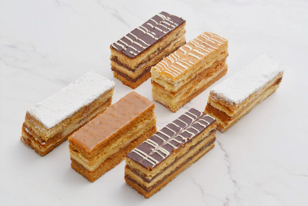 Mille Feuille 6 Pieces - Kabbani Sweets
