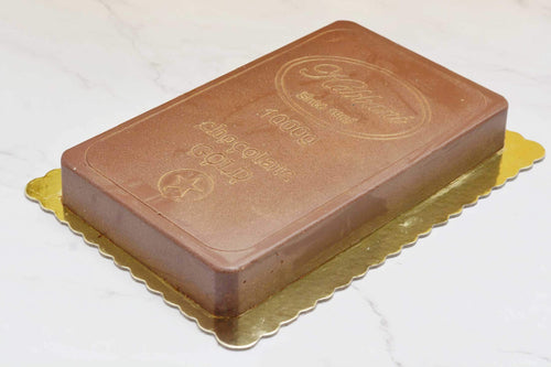 Gold Kit Kat Cake - Kabbani Sweets