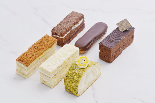 Mixed Cake 6 Pieces - Kabbani Sweets