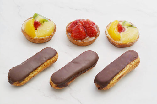 Mixed Eclair & Tart 6 Pieces - Kabbani Sweets