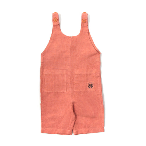 Hemp Overalls - Madder Root