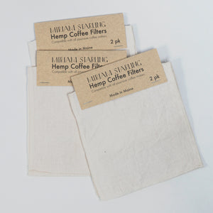 Reusable Hemp Coffee Filters
