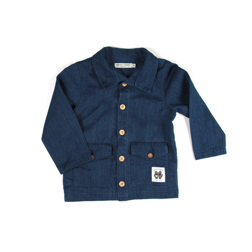 Hemp French Workman's Jacket