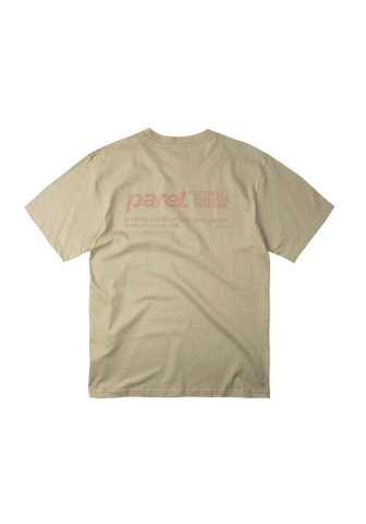 BACKPRINT TEE - SAND