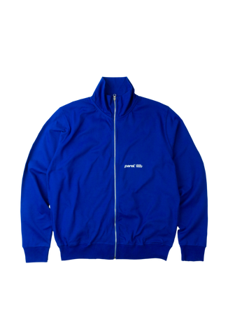 TRACK JACKET - ROYAL BLUE