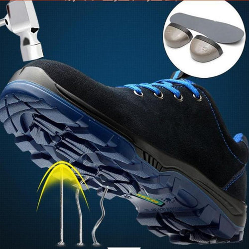 Men Steel Toe Work Safety Shoes