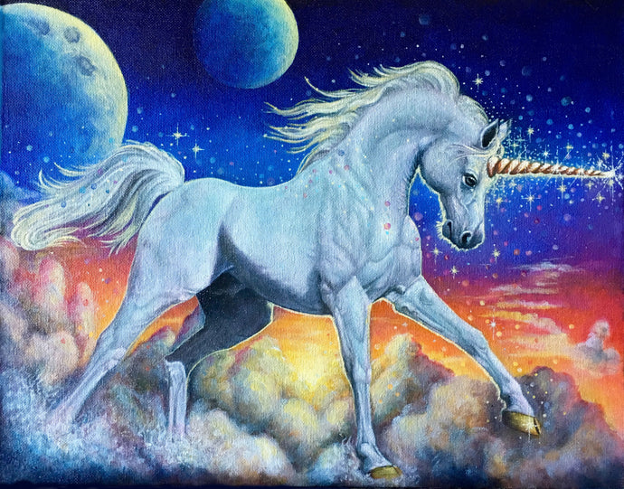 Unicorn in the Clouds