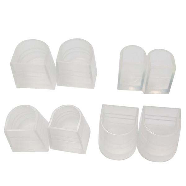6 PAIR OF STILETTO HEEL PROTECTORS/SHOE PROTECTORS-weddingniknaks
