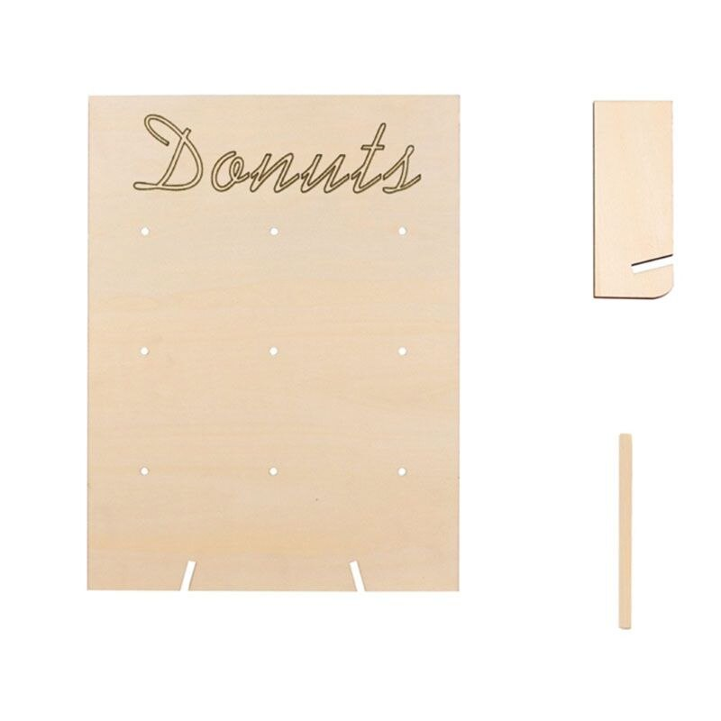 DIY Donut Wall for 9 Donuts - weddingniknaks