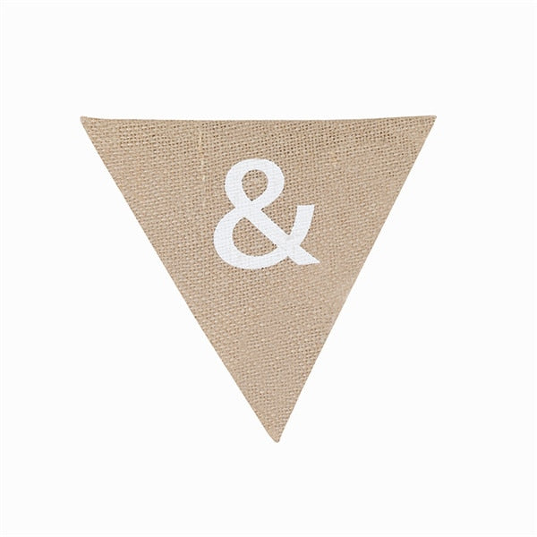 PERSONALISED BUNTING/WEDDING BANNER. AVAILABLE A-Z - weddingniknaks