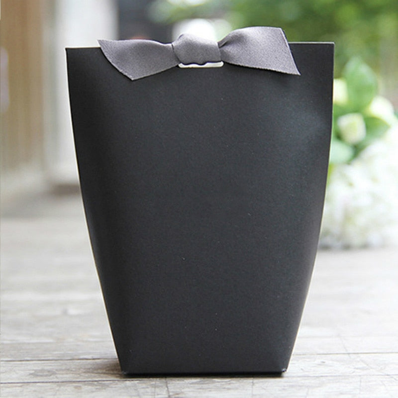 20 SMALL WEDDING FAVOR BAGS WITH RIBBON AVAILABLE IN 3 COLOURS OR AS A MIXTURE-weddingniknaks