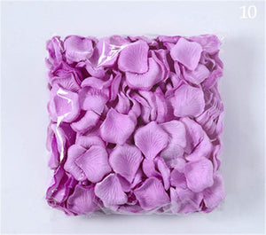 4600 WEDDING CONFETTI ROSE PETALS. AVAILABLE IN 19 COLOURS. - weddingniknaks