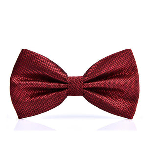 ADJUSTABLE BOW TIES AVAILABLE IN 24 COLOURS-weddingniknaks