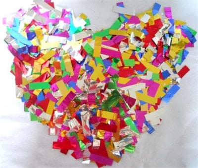 500g FOIL WEDDING CONFETTI/TABLE DECORATION. AVAILABLE IN 10 DIFFERENT COLOURS - weddingniknaks
