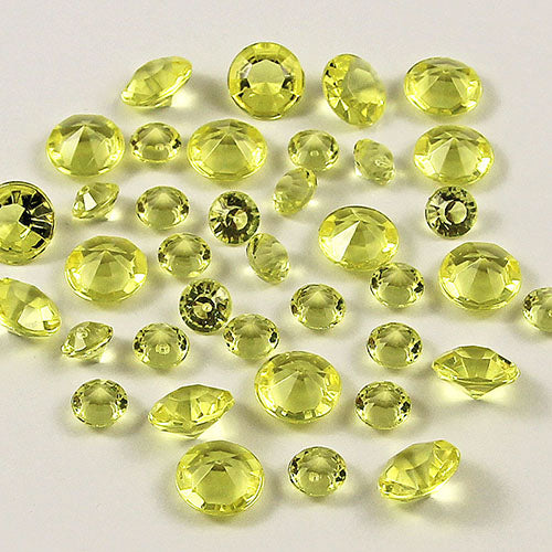 20,000 RHINESTONE CRYSTAL BEADS. AVAILABLE IN 20 DIFFERENT COLOURS.Light Yellow / 4mm 20000pcs-weddingniknaks
