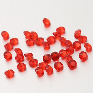20,000 RHINESTONE CRYSTAL BEADS. AVAILABLE IN 20 DIFFERENT COLOURS.Red / 4mm 20000pcs-weddingniknaks