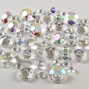 20,000 RHINESTONE CRYSTAL BEADS. AVAILABLE IN 20 DIFFERENT COLOURS.AB Colors / 4mm 20000pcs-weddingniknaks