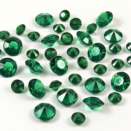 20,000 RHINESTONE CRYSTAL BEADS. AVAILABLE IN 20 DIFFERENT COLOURS.Dark Green / 4mm 20000pcs-weddingniknaks