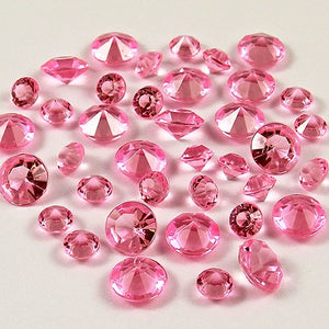 20,000 RHINESTONE CRYSTAL BEADS. AVAILABLE IN 20 DIFFERENT COLOURS.Pink / 4mm 20000pcs-weddingniknaks