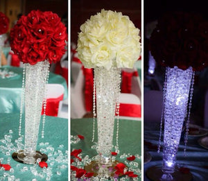20,000 RHINESTONE CRYSTAL BEADS. AVAILABLE IN 20 DIFFERENT COLOURS.-weddingniknaks