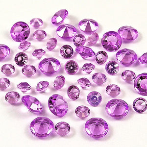 12,000 ACRYLIC 4MM RHINESTONE CRYSTALS TABLE DECORATION/TABLE SCATTERS AVAILABLE IN 19 COLOURSLight Purple / 4mm 12000pcs-weddingniknaks