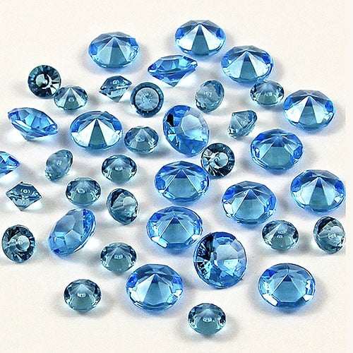 12,000 ACRYLIC 4MM RHINESTONE CRYSTALS TABLE DECORATION/TABLE SCATTERS AVAILABLE IN 19 COLOURS - weddingniknaks