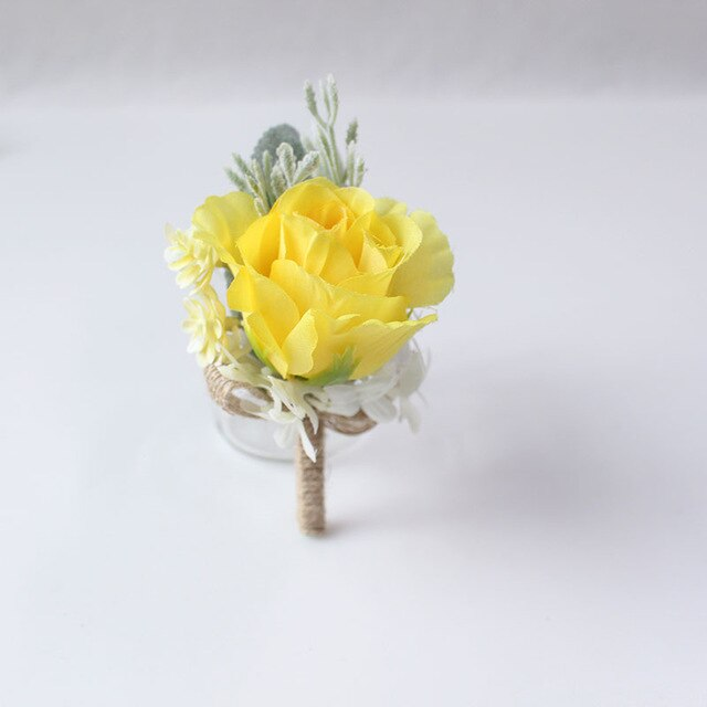 Wedding Party Corsages, Wrist Flowers and Buttonholes in 14 different Stylescorsage-A-weddingniknaks