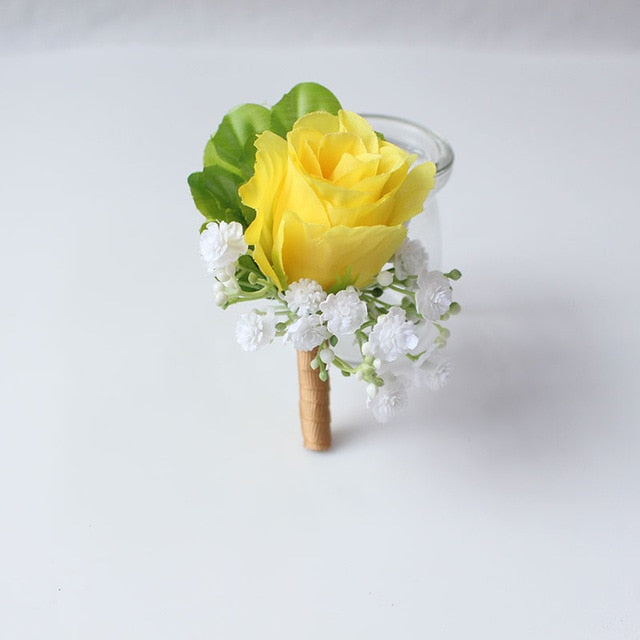 Wedding Party Corsages, Wrist Flowers and Buttonholes in 14 different Stylescorsage-B-weddingniknaks