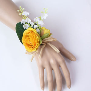Wedding Party Corsages, Wrist Flowers and Buttonholes in 14 different Styleswrist corsage-G-weddingniknaks