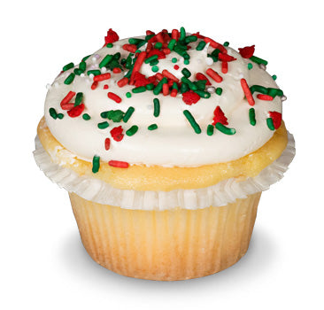 Holiday Cheer Cupcake