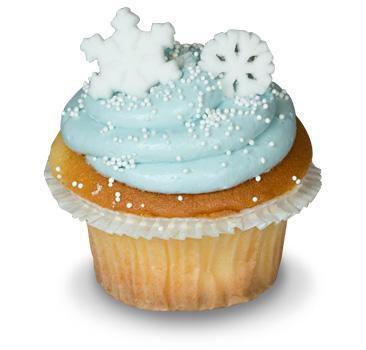 Let it snow Cupcake