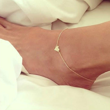 New Heart Anklet