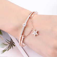 Rose Gold treasured aura bracelet