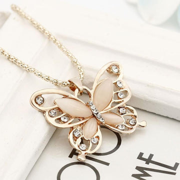 Beola Butterfly Necklace