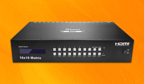 16 PORT HDMI MATRIX