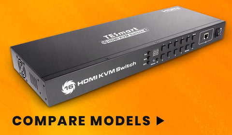 16 Port - HDMI KVM Switch