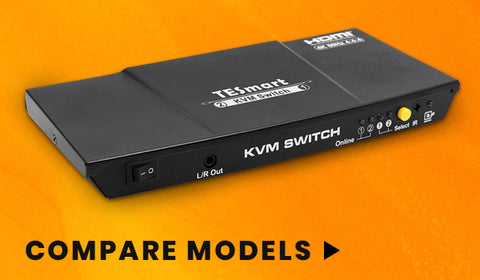 2 Port - HDMI KVM Video Switch