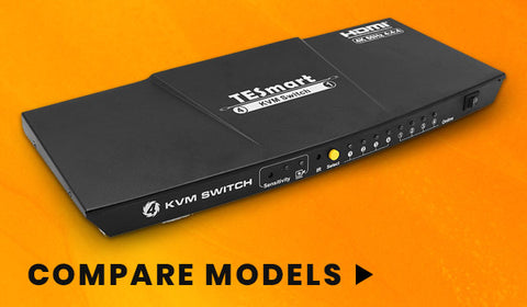 4 Port - Ultra HD KVM Switch