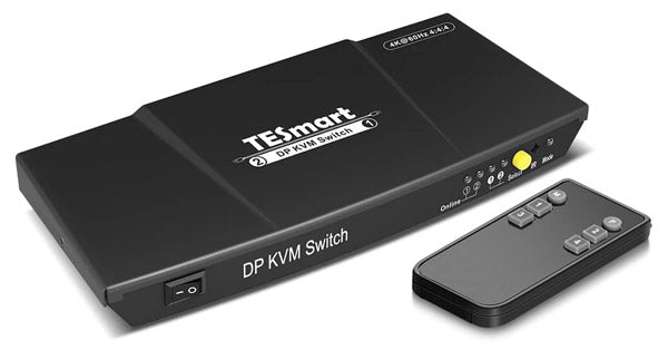 2-PORT KVM SWITCH - DISPLAYPORT 1.2
