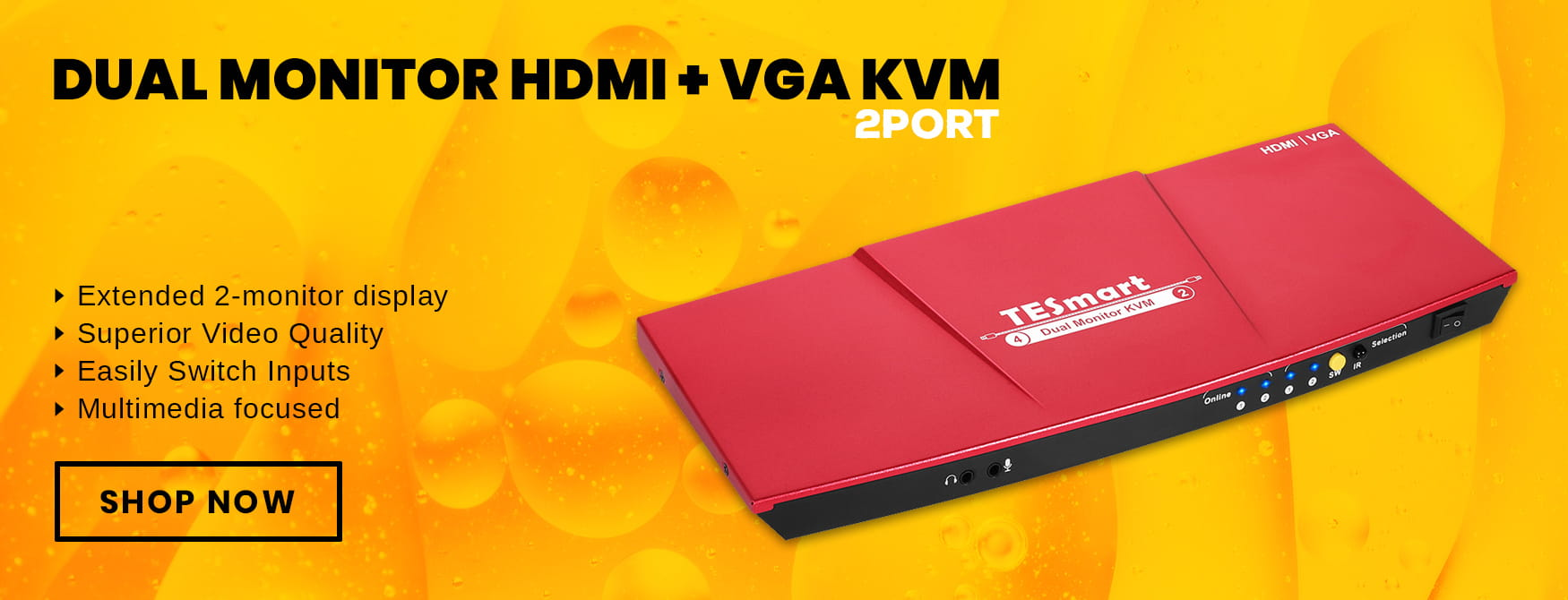 Best Hdmi Kvm Switch 2018 | Ultra Hd Kvm Switch – BuyTESmart com
