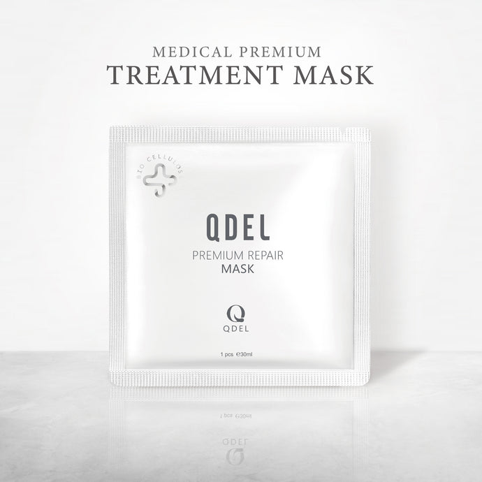 Qdel Premium Sheet Mask 5 Pcs