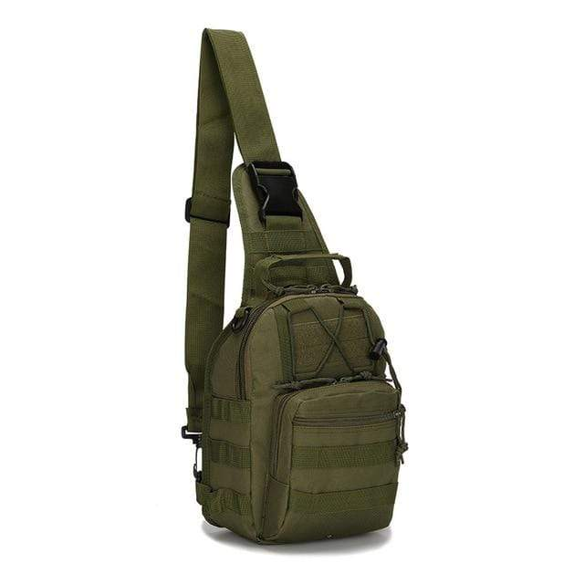 Lukowulf's Camping Haven 3 Outdoor Shoulder Trekking Bag